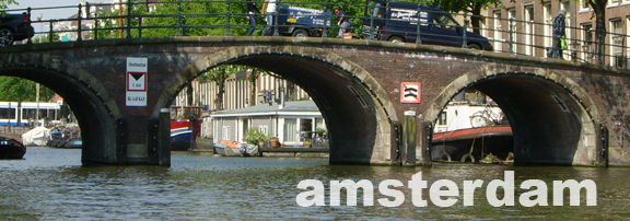 Amsterdam Travelogue Banner